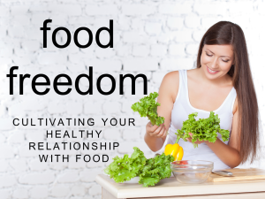 FOOD FREEDOM Cover