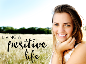 living a positive life cover